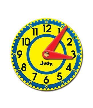 Carson Dellosa Judy Clocks Colorful Cut-Outs - Curriculum