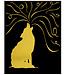 GOLD GLIMMER ART PAPER 8.5X11 10 CT-1