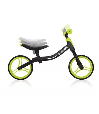 Globber Go Bike-Black/Lime Green