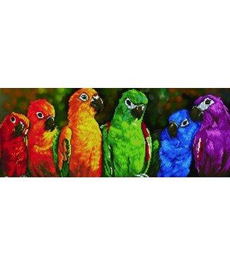 Diamond Dots Diamond Dotz - Rainbow Parrots (19)