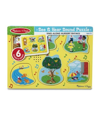 Melissa & Doug Sing-Along Nursery Rhymes 1 Song Puzzle