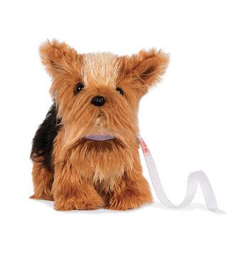 "Our Generation Puppy OG - 6"" Poseable Yorkshire Terrier for OG doll"