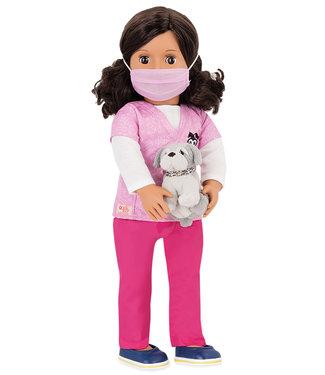 Our Generation Doll OG Deluxe-Paloma Professional Vet