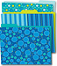 Bubbly Blues File Folders