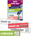 Math Word Wall Learning Cards Grade K
