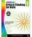 Spectrum Critical Thinking for Math Workbook Grade 3