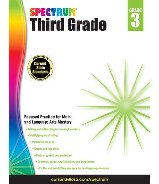 Carson Dellosa Spectrum Math (3) Book