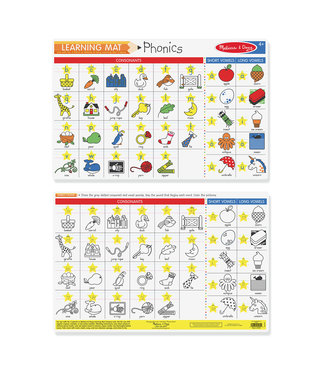 Melissa & Doug Phonics Write-A-Mat  single