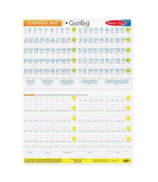 Melissa & Doug Counting to 100 Write-A-Mat
