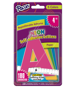 Pacon Self-Adhesive Paper Letters