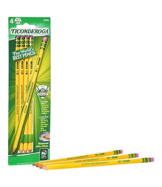 Ticonderoga - #2 Soft - Yellow - Presharpened