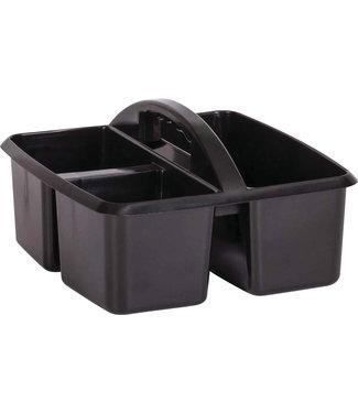 Teacher Created Resources Black Plastic Storage Caddie