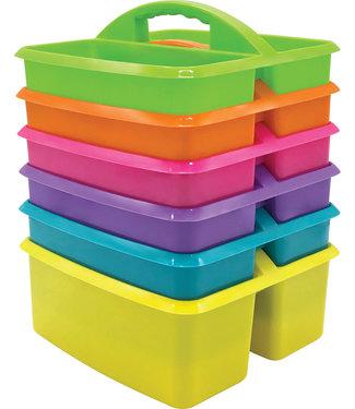 Teacher Created Resources Brights Storage Caddies Set 6-Pack