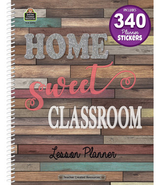 Teacher Created Resources Home Sweet Classroom Lesson Planner