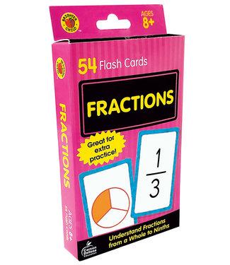 Carson Dellosa Fractions Flash Cards, Grades 3 - 5