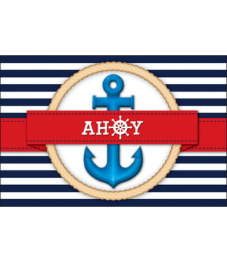 Teacher Created Resources Nautical Ahoy Postcards