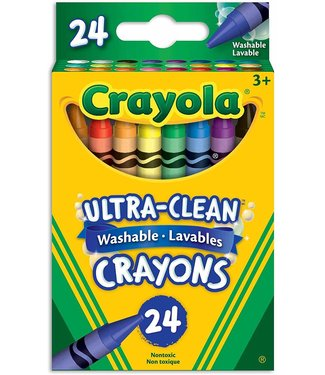 Crayola 24 ct. Ultra-Clean Washable Crayons - Regular Size