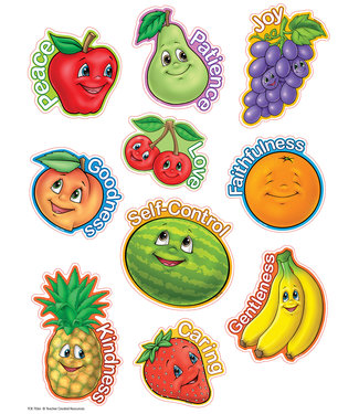 Teacher Created Resources Fruit of the Spirit Accents