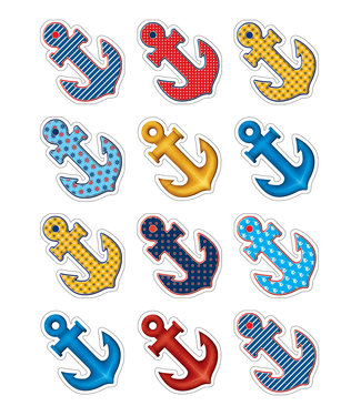 Teacher Created Resources Anchors Mini Accents