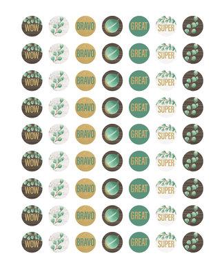 Teacher Created Resources Eucalyptus Mini Stickers