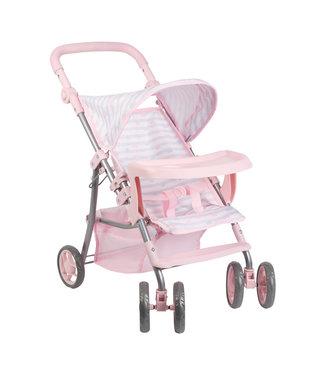 Adora Dolls Pink Snack N Go Shade Stroller