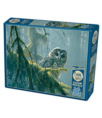 Cobble Hill Mossy Branches - Spotted Owl