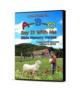 Moore Family Films ABC Say it with me DVD