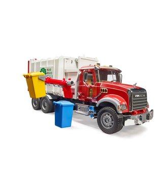 Bruder MACK Granite Side loading garbage truck