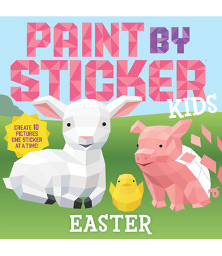 Paint by Sticker Kids: Easter