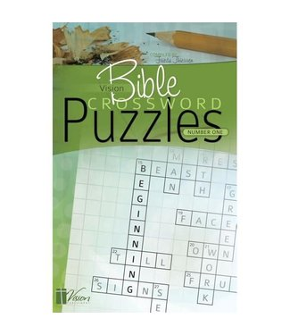 Living Waters Bible Crossword Puzzles #1