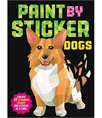 Paint By Sticker: Dogs (F)