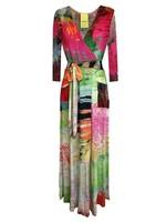 SYBIL WRAP AROUND DRESS
