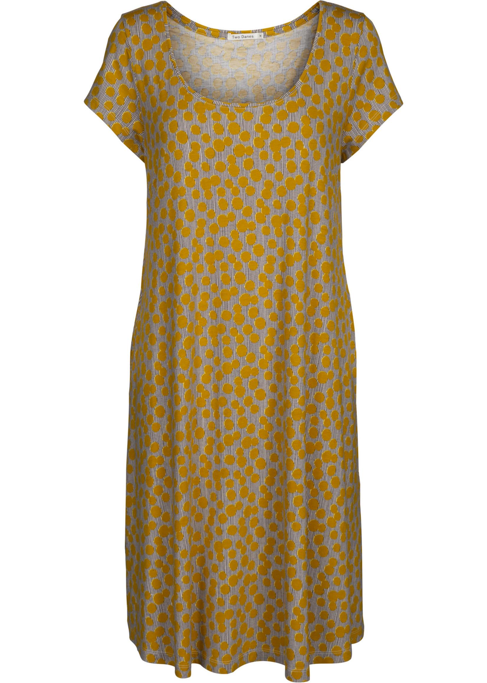 TWO DANES 33772 325 BLOOM PRINT BAMBOO DRESS