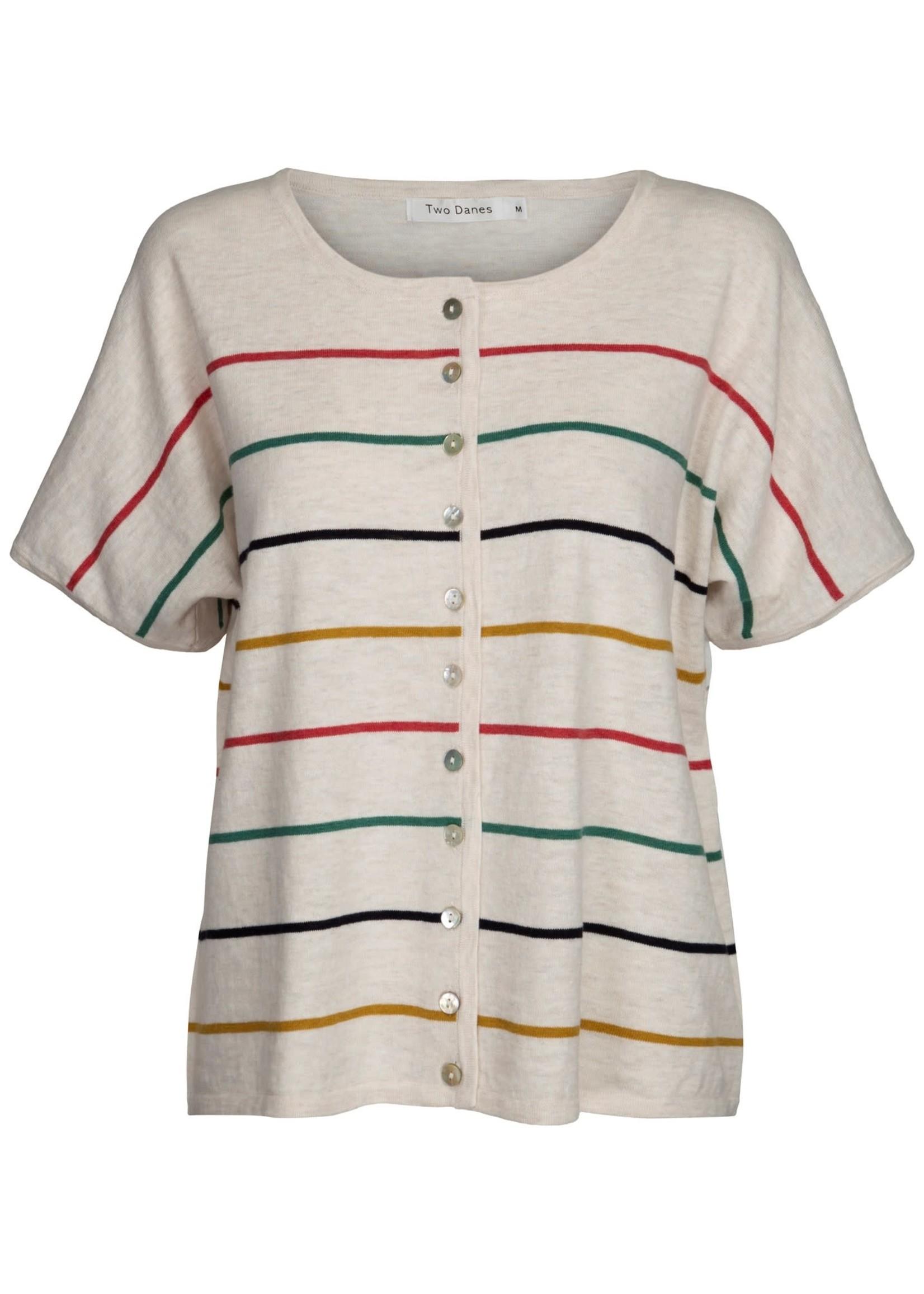 TWO DANES 35093 Ketty Cotton stripe Top