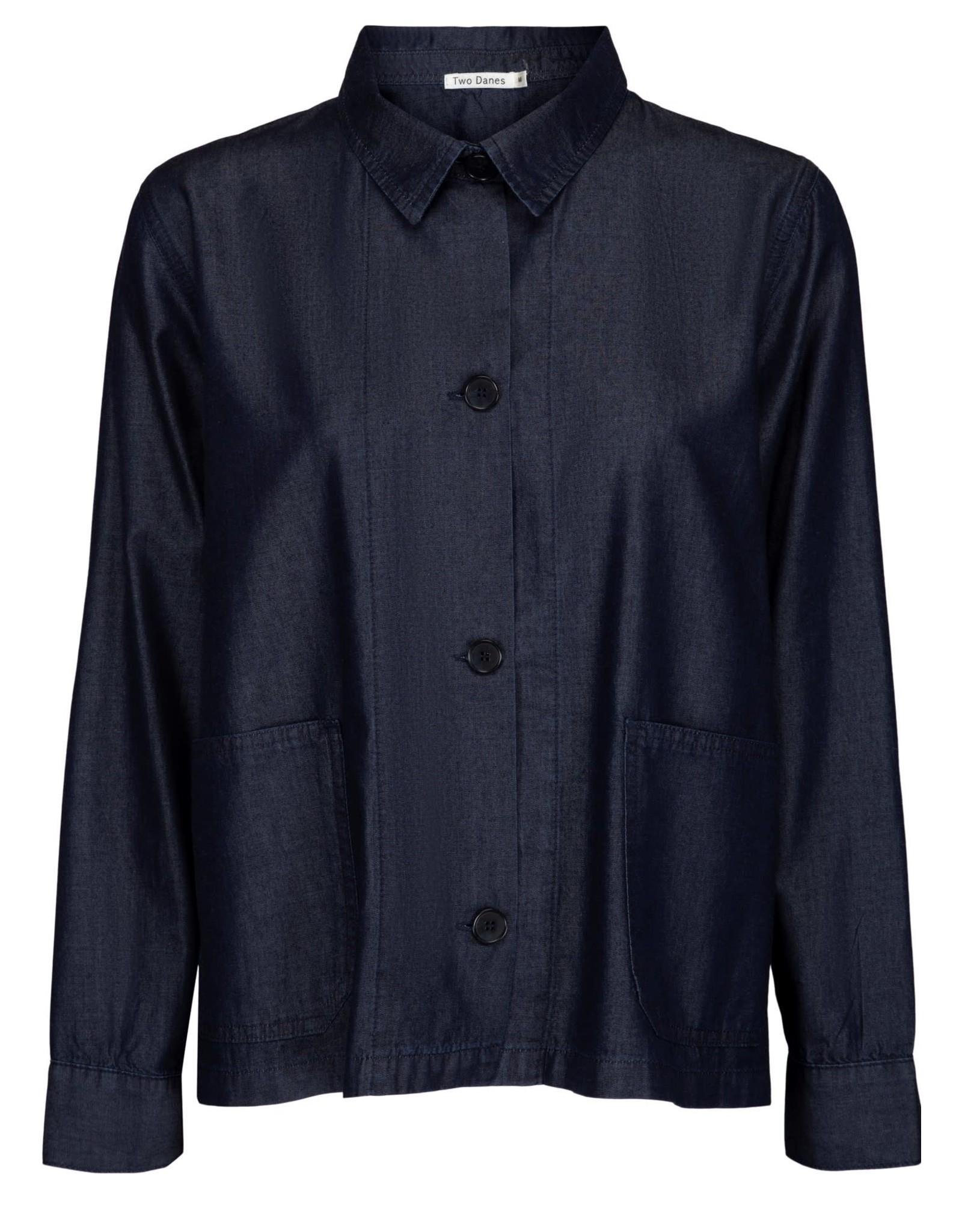 TWO DANES 37524 367 Dusty Cotton Tencel Jacket