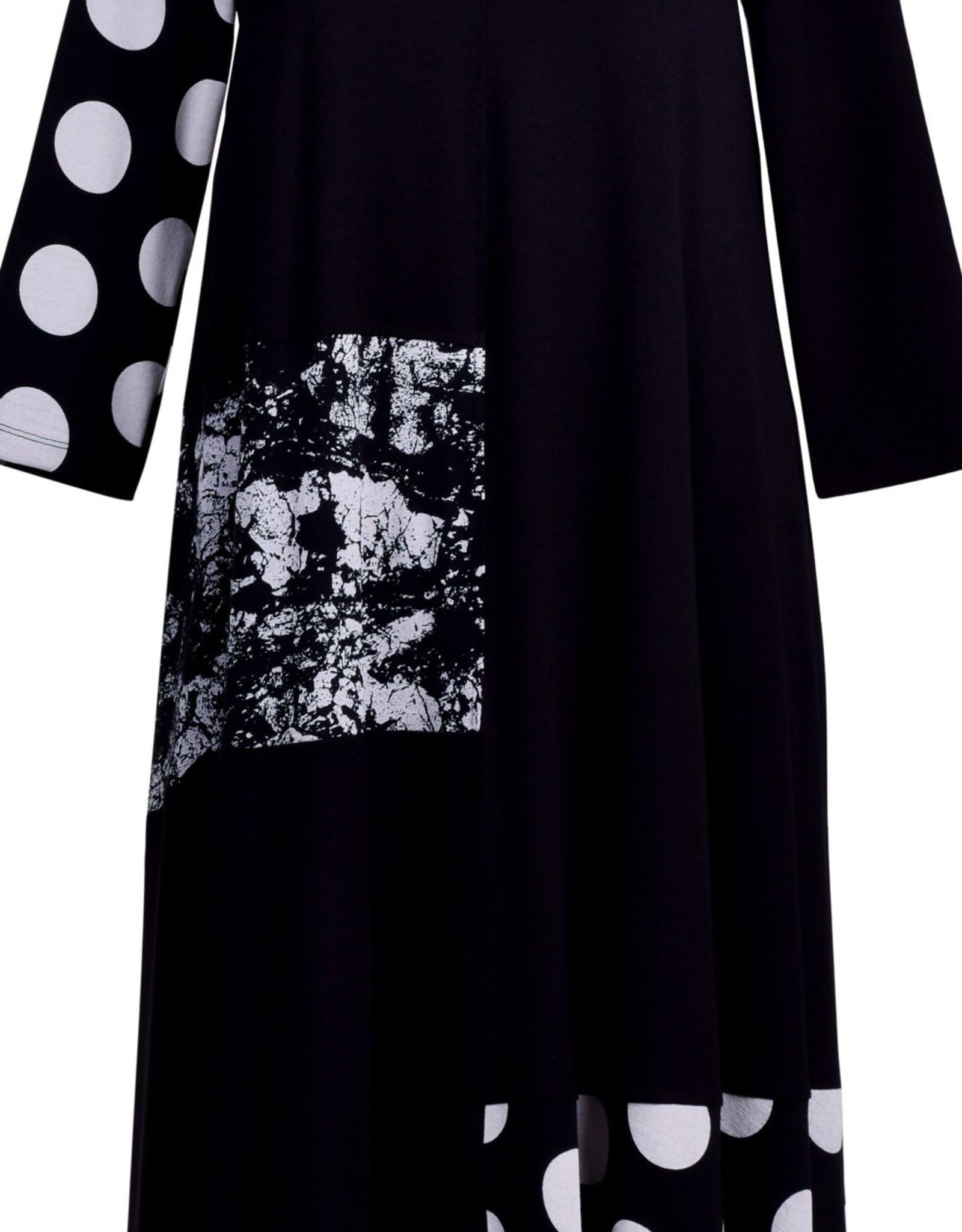 ALEMBIKA SD647B Alembika Mix Media Dress