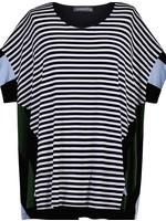 ALEMBIKA st221s stripes top
