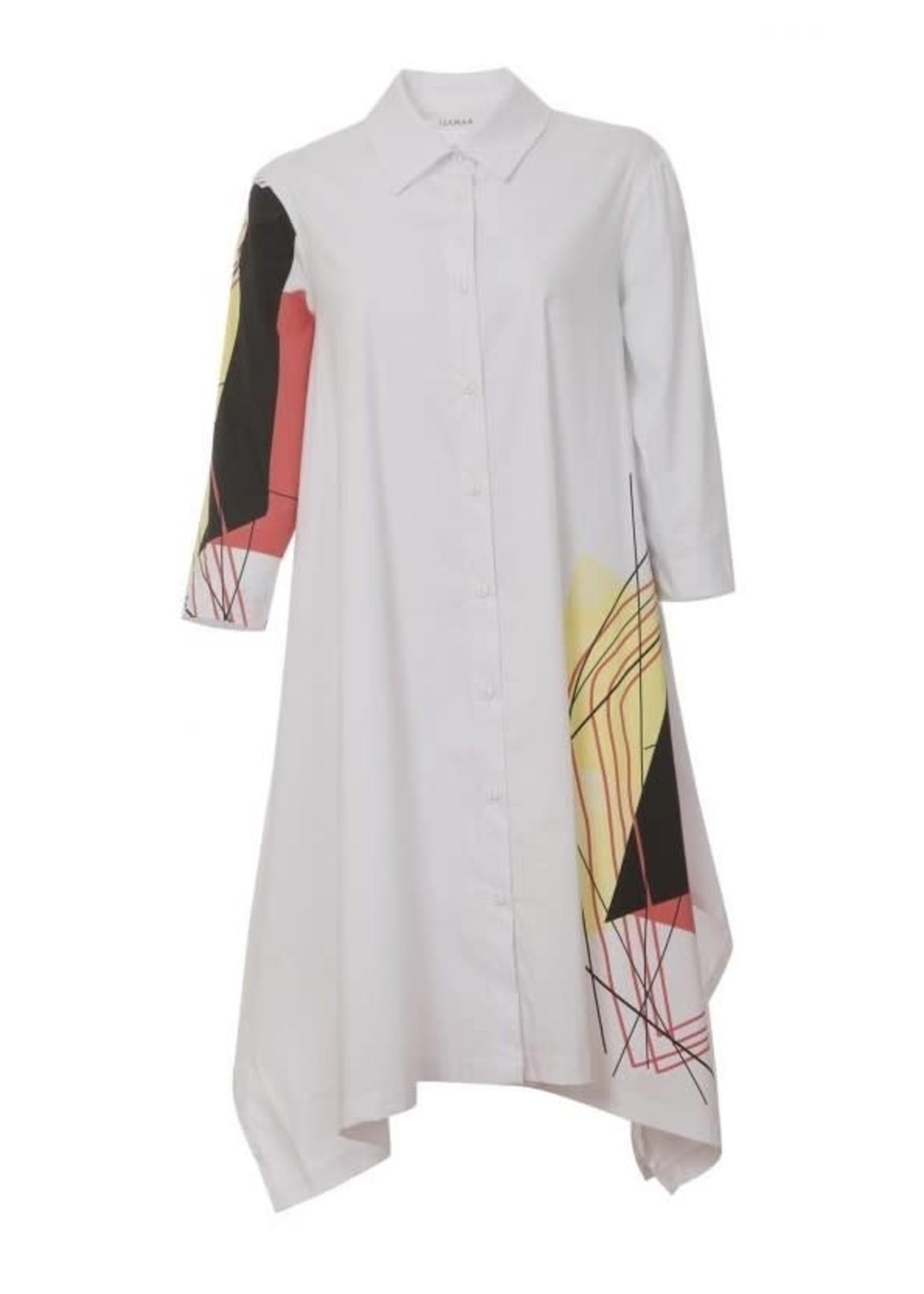 LUUKAA 20y104 long poplin cotton shirt