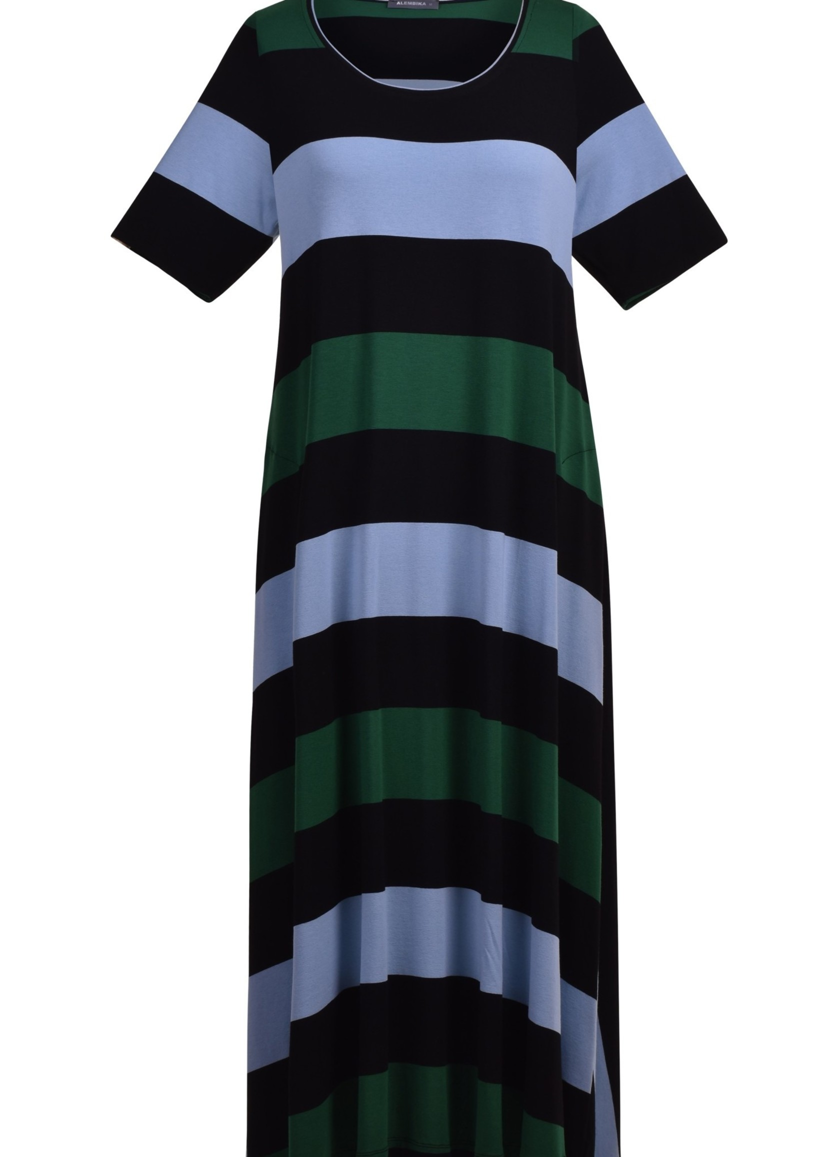 ALEMBIKA sd629s Alembika stripe dress