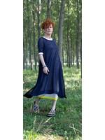 CHIARA COCOL 415d hemp double layer dress