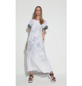 OZAI half- white dress