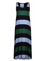 ALEMBIKA sd630-stripes maxi dress