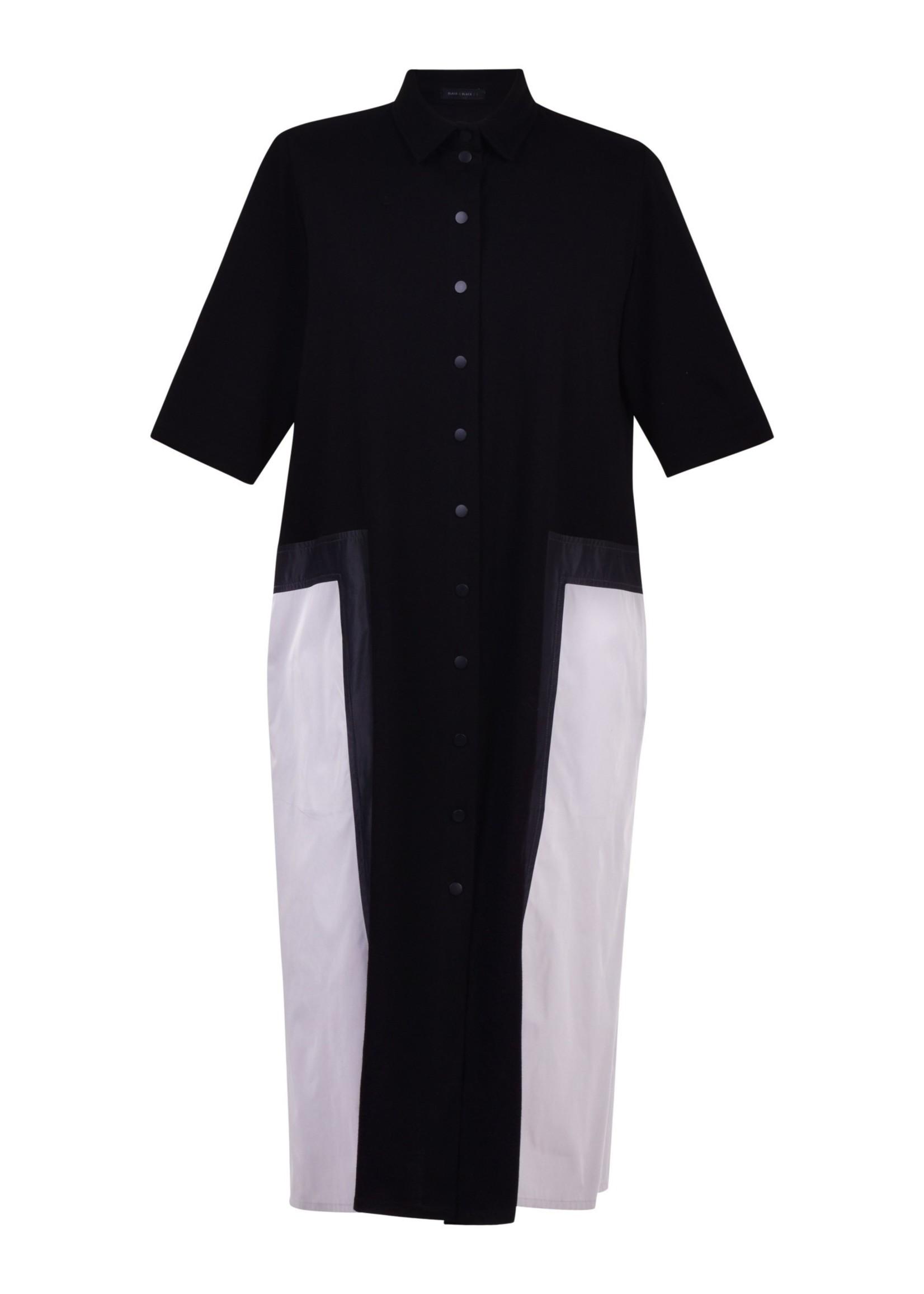ALEMBIKA BD709B button down block dress