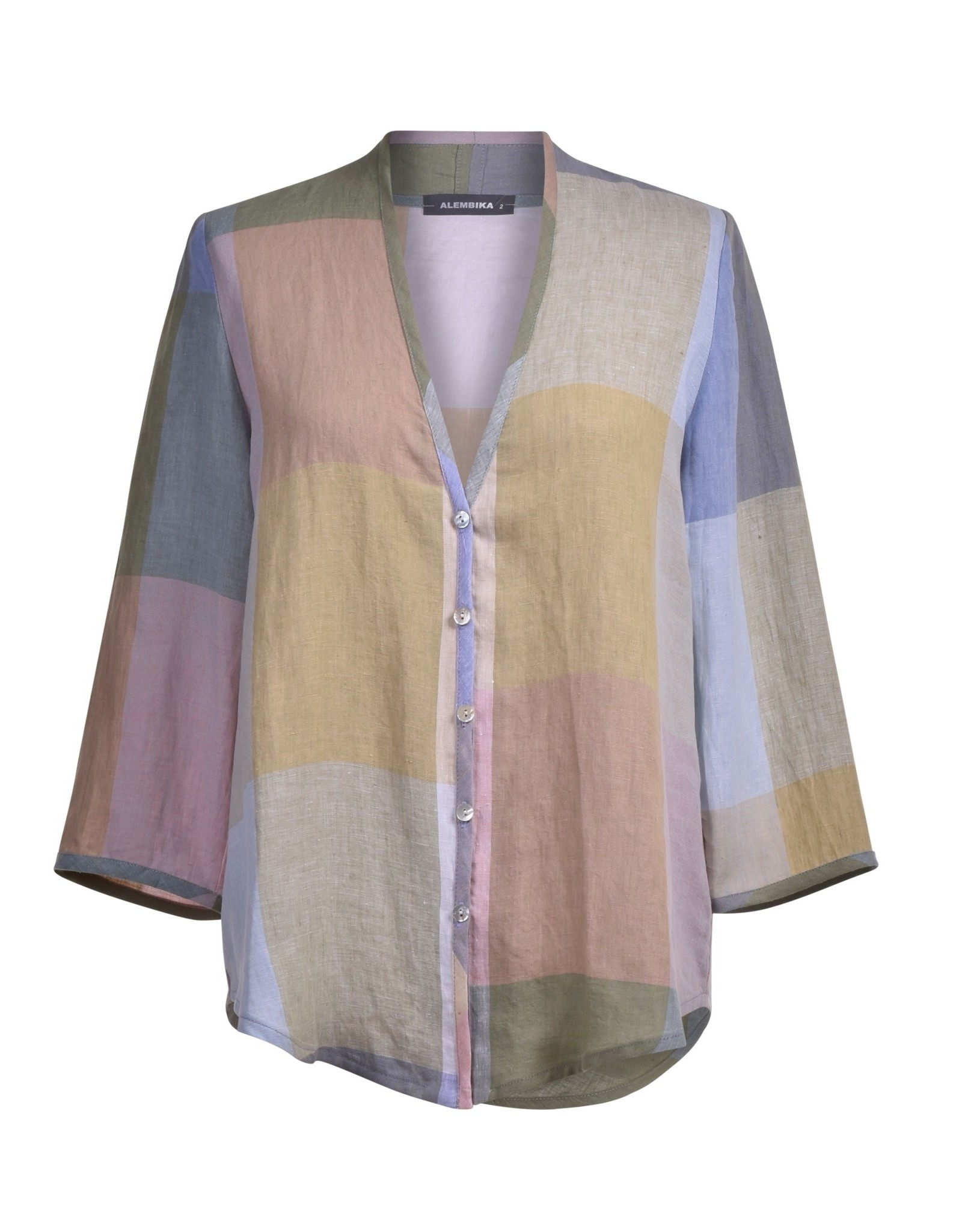 ALEMBIKA st203p long sleeve button down shirt