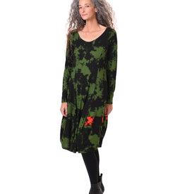 ALEMBIKA ad609g green dress