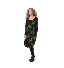 ALEMBIKA ad609g green dress