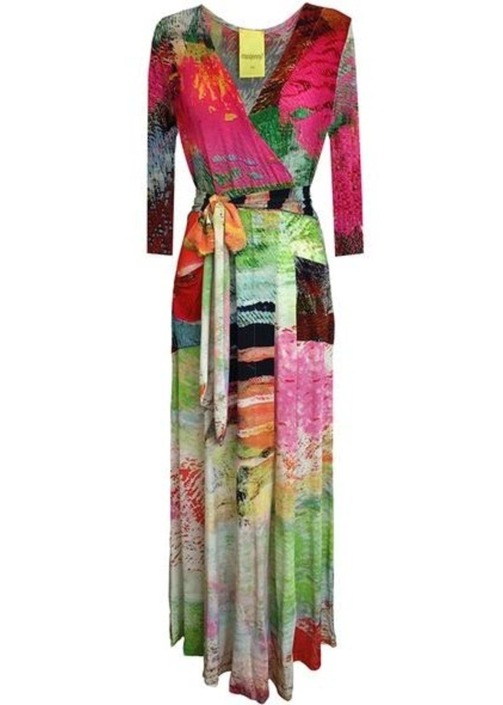 MAXJENNY wraparound dress