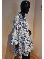 SYBIL 91155 printed cotton tail shirt