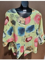 SYBIL 6653 linen blouse