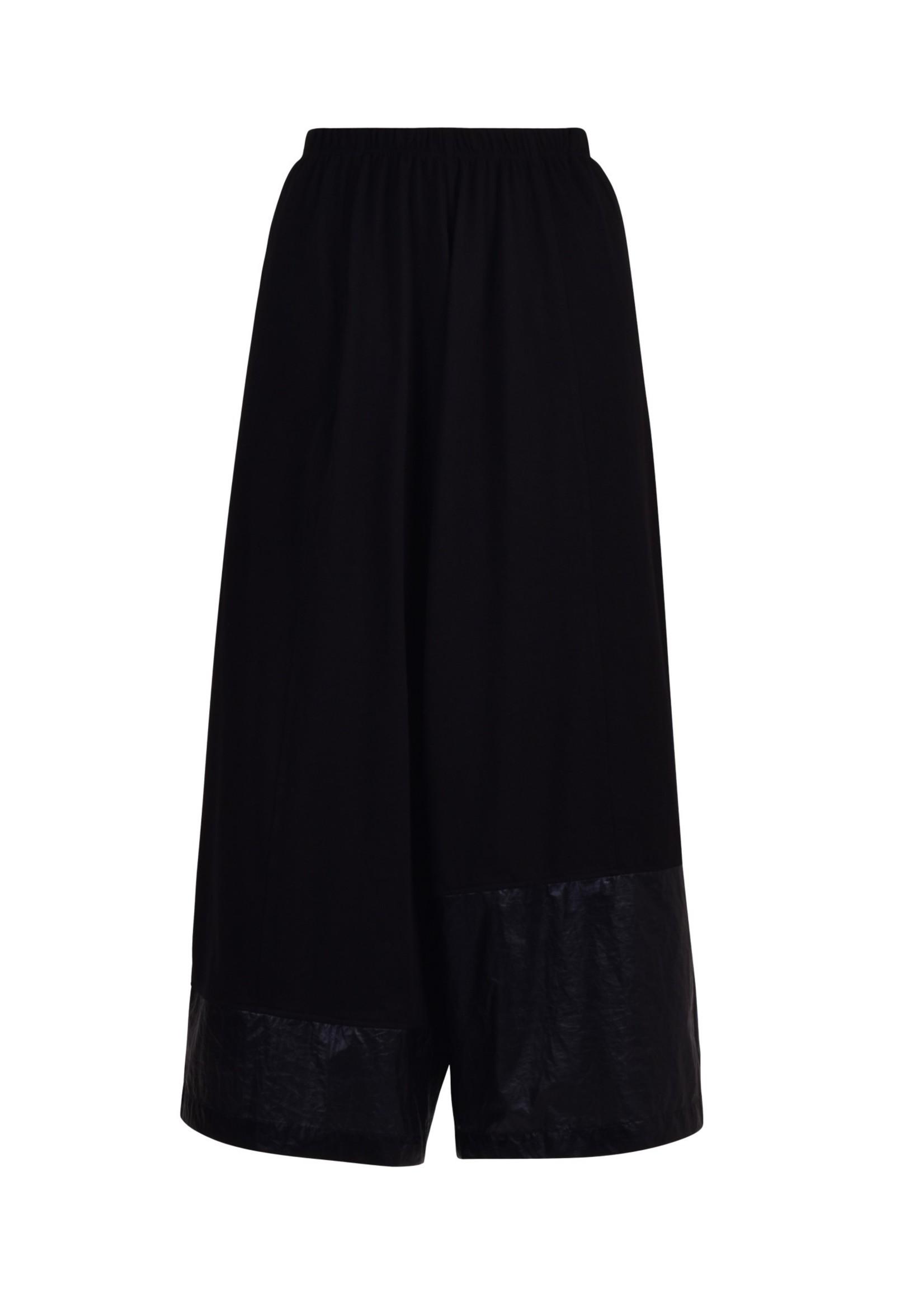 ALEMBIKA bp729 black wide leg pant